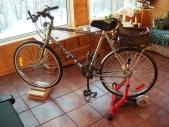 bike on trainer